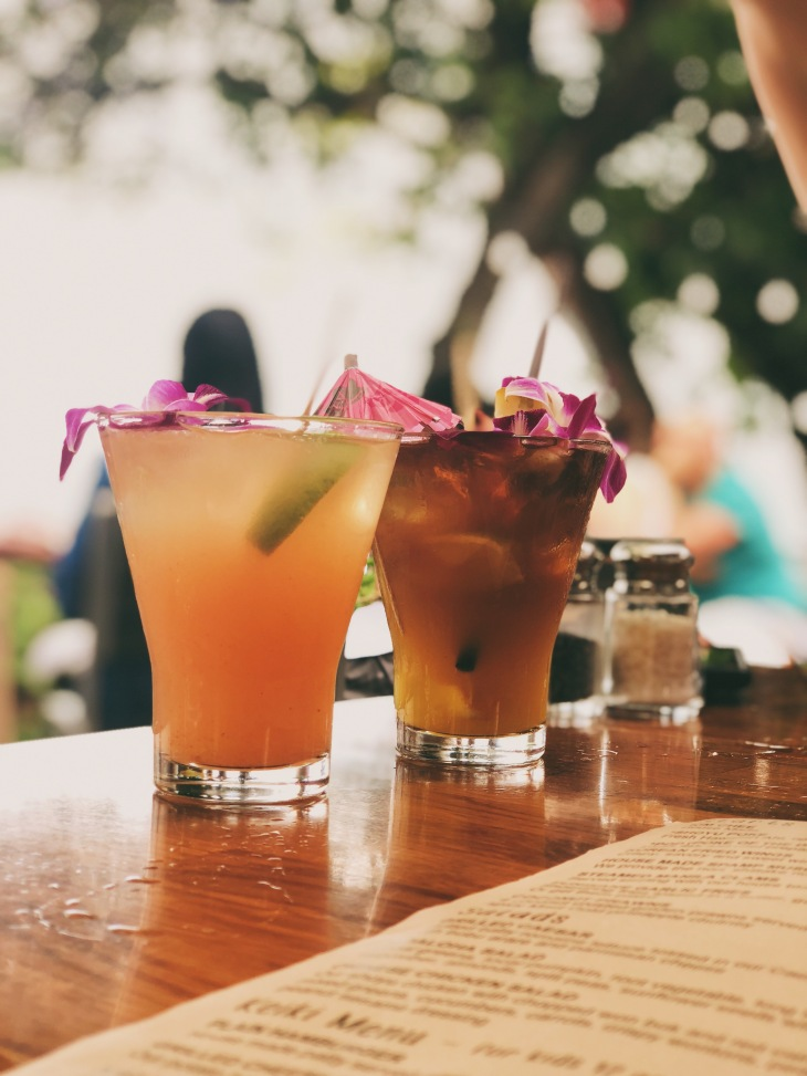 Diablo Marg (left) & Mai Tai (right)